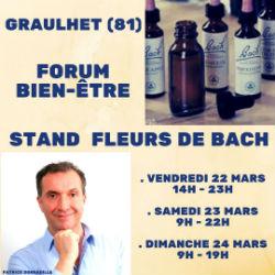 Patrick Donnadille Forum Graulhet 2019 Elixirs floraux du Dr Bach
